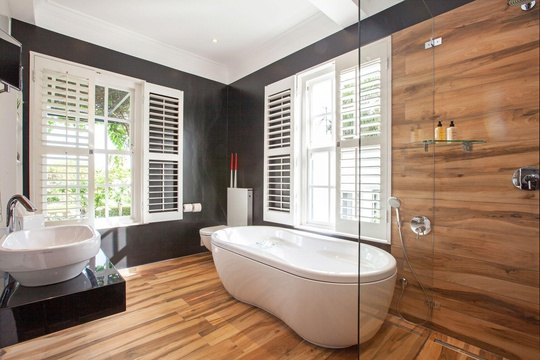 Deluxe Suite: Bathroom | 14 on Klein Constantia